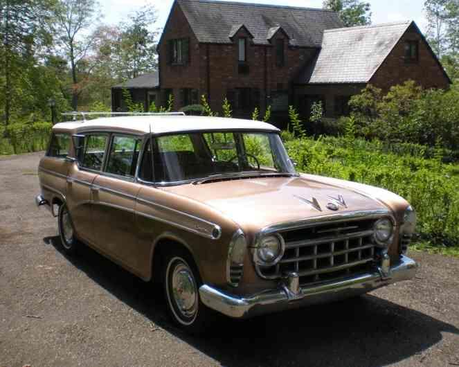 1957 nash rambler custom cross country station wagon 6cyl. Black Bedroom Furniture Sets. Home Design Ideas