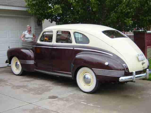 1941 Ambassador Eight Special 4 Door Sedan Slipstream