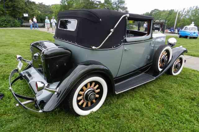 2 Door Convertible >> 1932 Nash Convertible Landau Sedan, Model 1073, 5 passenger 2 Door, Straight 8.
