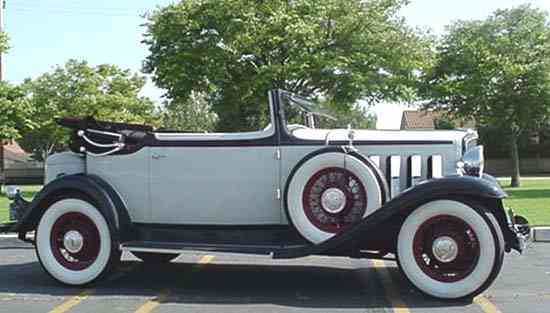 2 Door Convertible >> 1932 Nash Convertible Landau Sedan, Model 1073, 5 passenger 2 Door, Straight 8, with Right Hand ...